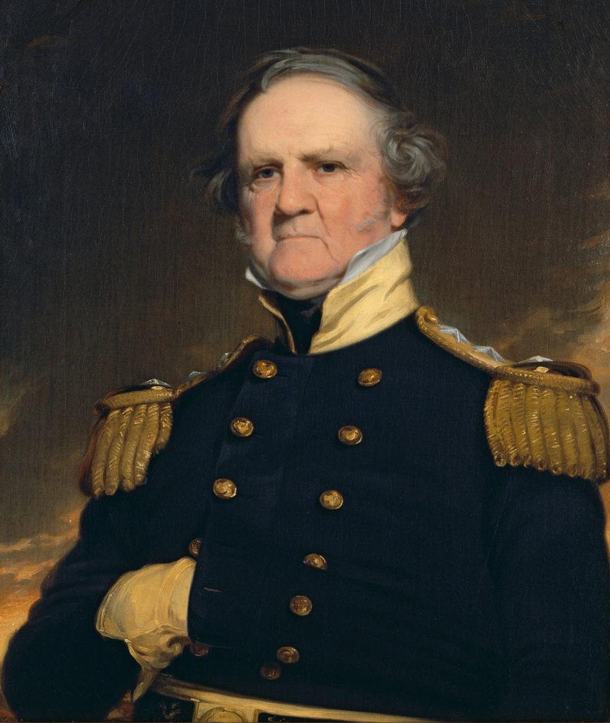 General Vinfild Skot - Čuveni američki vojskovođa i veliki ljubitelj šaha.