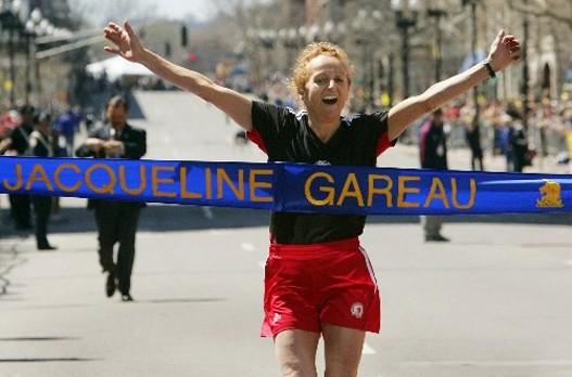 Žaklin Garej - Na kraju ipak pobednica Bostonskog maratona 1980. godine.