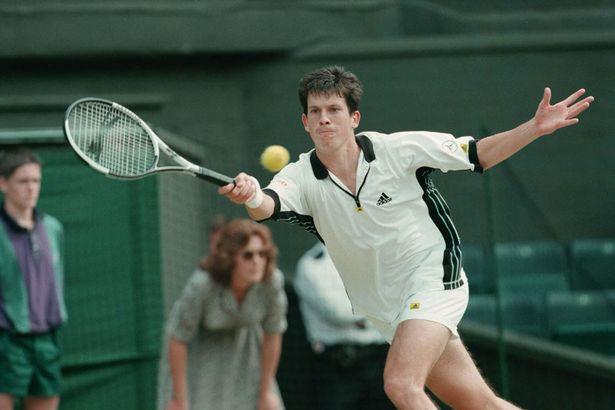Učešća Tima Henmana na Vimbldonu 1995. godine obeležio je incident sa skupljačicom loptice.