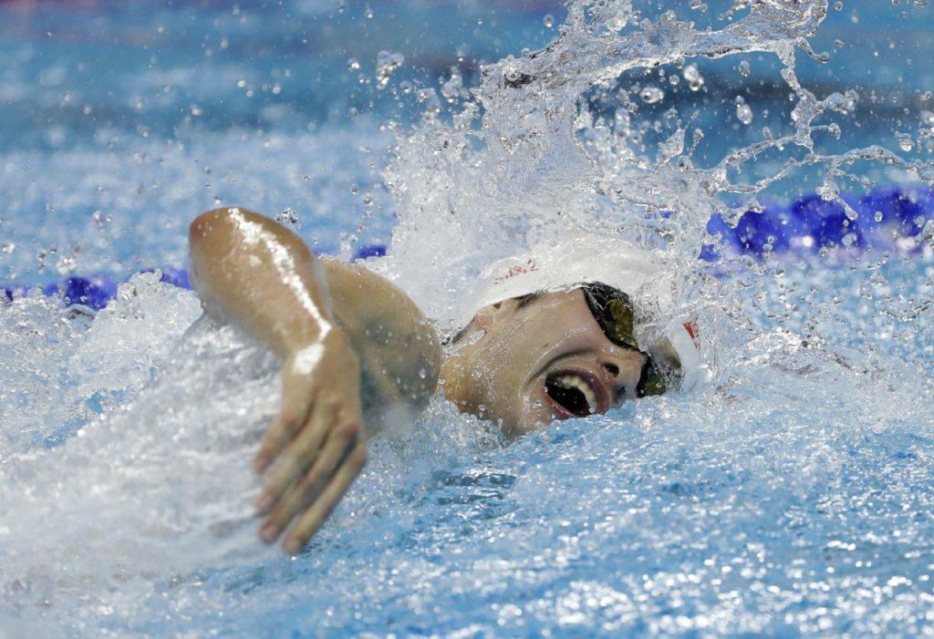 Santo Kondoreli je još kao dečak pokazao veliki talenat za plivanje.