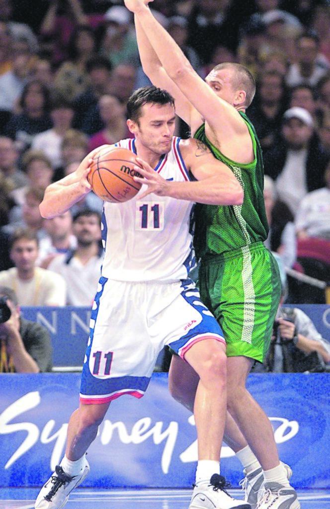 Željko Rebrača je tokom karijere vodio žestoke duele protiv litvanskih košarkaša.
