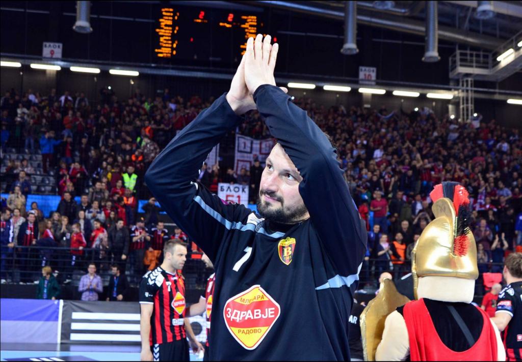 Arpad Šterbik je svojom odbranom doneo pobedu Vardaru protiv Visle.