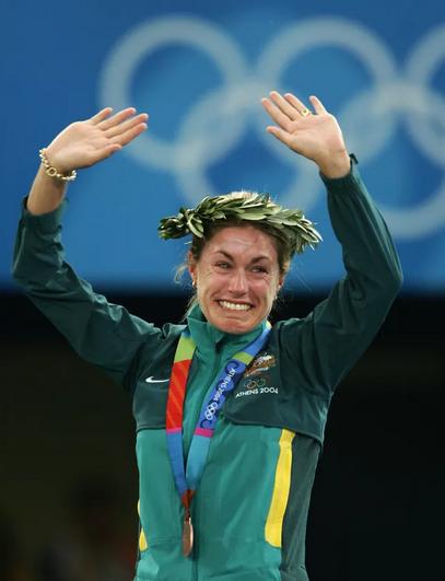 Džejn Sevil je osvajanjem bronzane medalje na Olimpijskim igrama u Atini bar malo nadoknadila propušteno u Sidneju.