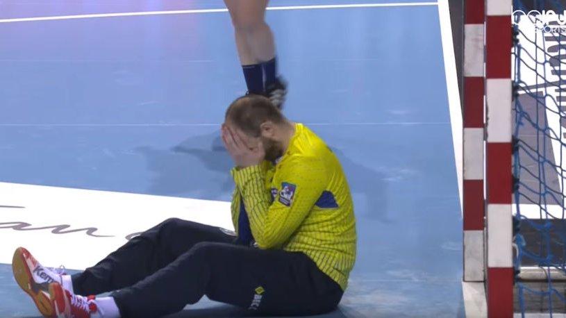 Vinsent Žerar bio je razočaran pošto ga je Aleksandar Lingard savladao u poslednjim sekundama susreta Monpeljea i San Rafaela.