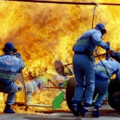 Jos Ferštapen – Jeziv požar u Hokenhajmu