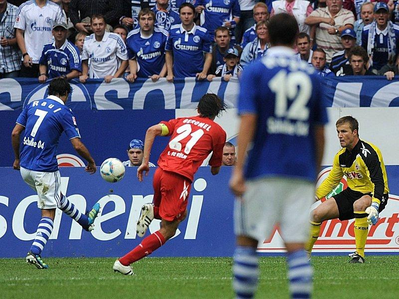 Raul postiže fenomenalan pogodak protiv Kelna.