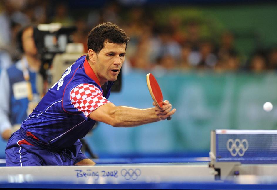 Zoran Primorac je osvojio jedan od najlepših stonoteniskih poena na Igrama u Pekingu.