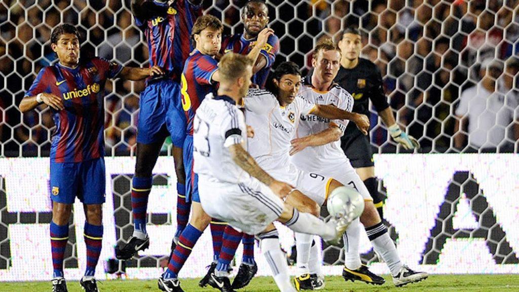 Dejvid Bekam - Gol iz slobodnog udarca protiv Barselone.