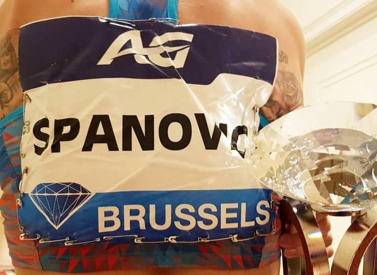 Ivana Španović je u Briselu osigurala papir sa svojim imenom kako joj se ne bi ponovila situacija sa prvenstva u Berlinu.