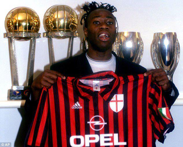 Taribo Vest u dresu Milana nije napravio očekivanu karijeru, a za to je optužio mafiju.