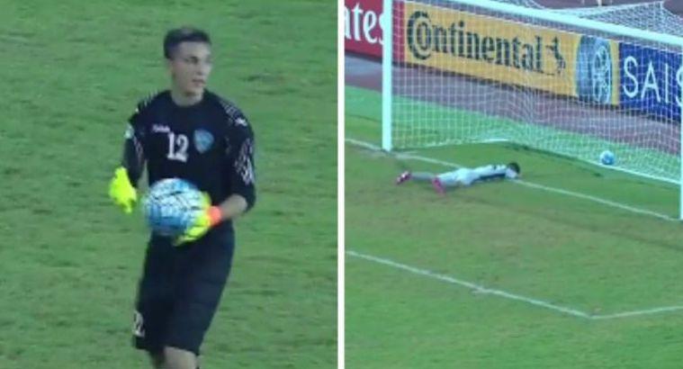 Jang Pak Ho je primio gol na neverovatan način.