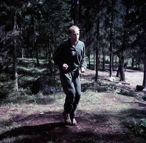 Emil Zatopek - Naporni treninzi u šumi.