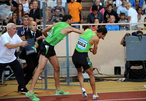 Navijači su bili šokirani tučom dvojice francuskih atletičara na mitingu u Monte Karlu.