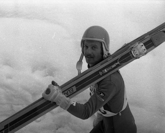 Bogdan Norčič je imao sasvim dobru karijeru ski skakača, koje je obeležio let na Planici.