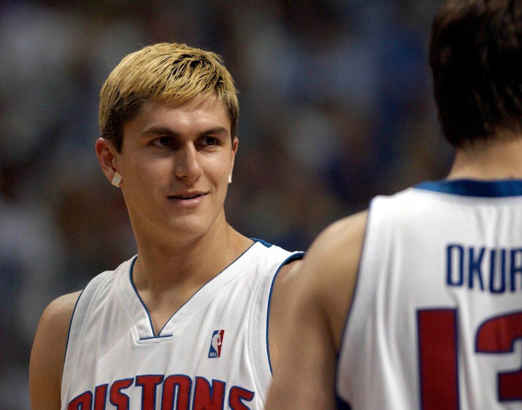 Darko Miličić je došao u Pistonse sa velikim očekivanjima, ali na kraju nije dobio veliki prostor za igru, a i u vremenu koje je provodio na parketu nije pružao očekivane partije.