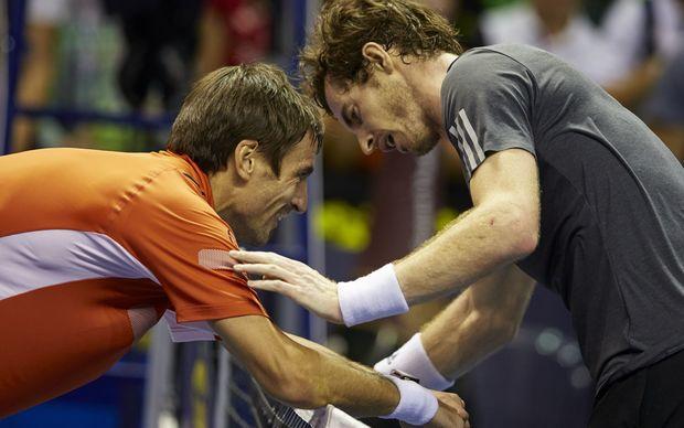 Dvojica tenisera su se na kraju smejala gestu Tomija Robreda.