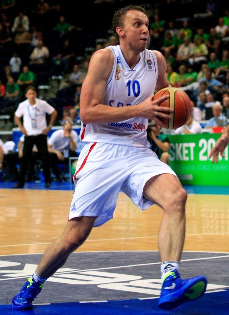 Duško Savanović igrao je odlično na meču protiv Španije.