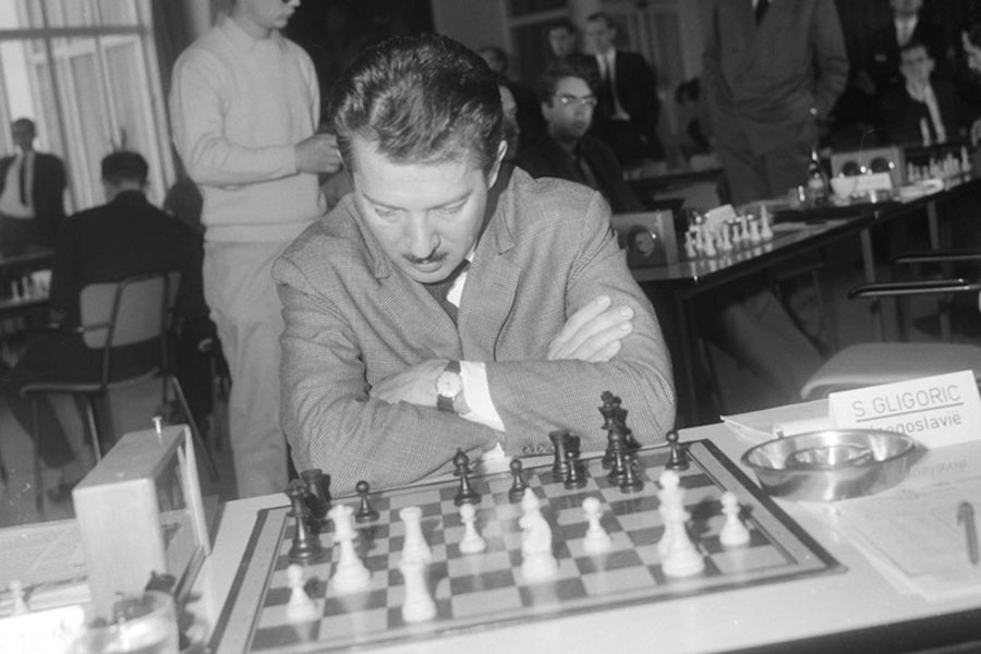 Svetozar Gligorić nije prepoznao svoju suprugu na turniru u Engleskoj.