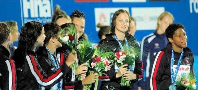 """Kanađanke su na kraju na šampionatu planete u Rimu 2009. godine osvojile """"samo"""" srebrnu medalju."""