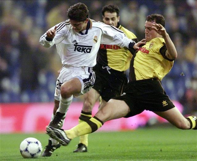 Perica Ognjenović je svoj jedini gol za Real postigao na meču protiv Saragose.