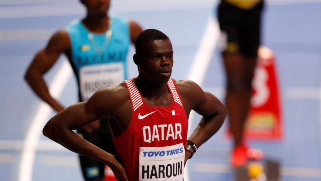 Abdalelah Harun je na šampionatu u Birmingemu diskvalifikovan zbog pogrešnog starta.
