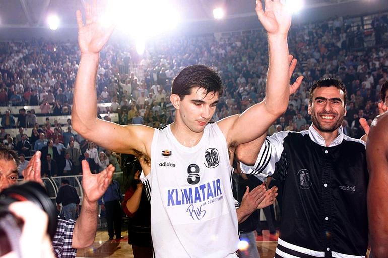 Peđa Stojaković je pružao briljantne partije u dresu PAOK-a iz Soluna.