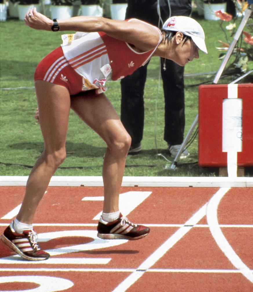 Gabrijela Andersen je posle velike borbe uspela da završi maratonsku trku na Igrama u Los Anđelesu.
