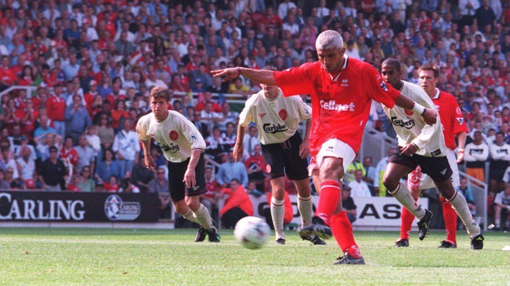 Fabricio Ravaneli je prvi gol za Midlsboro protiv Liverpula postigao iz penala.