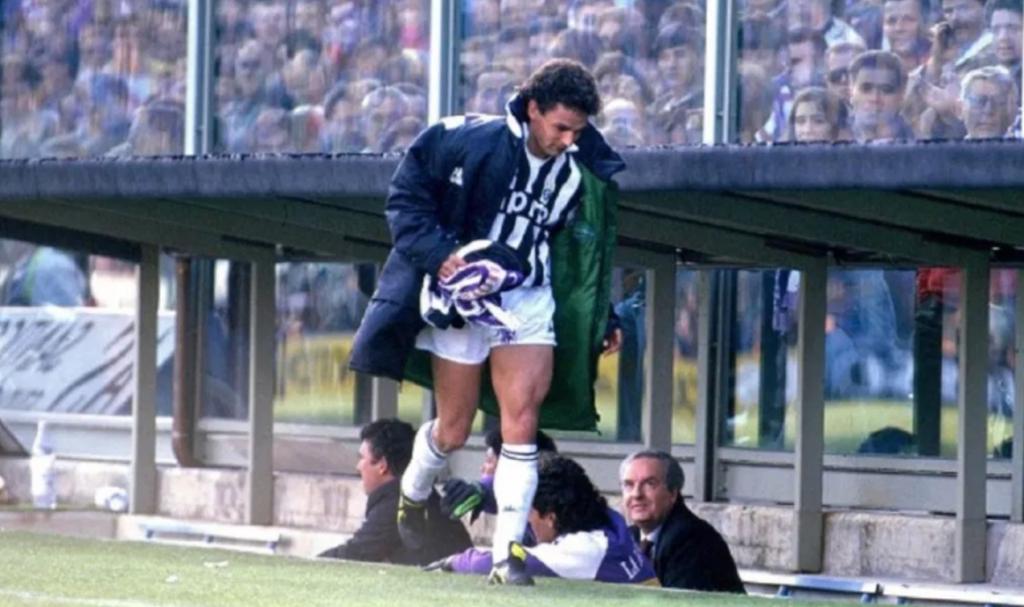 """Roberto Bađo je uzimanjem šala u ruke """"kupio"""" navijače Fiorentine."""