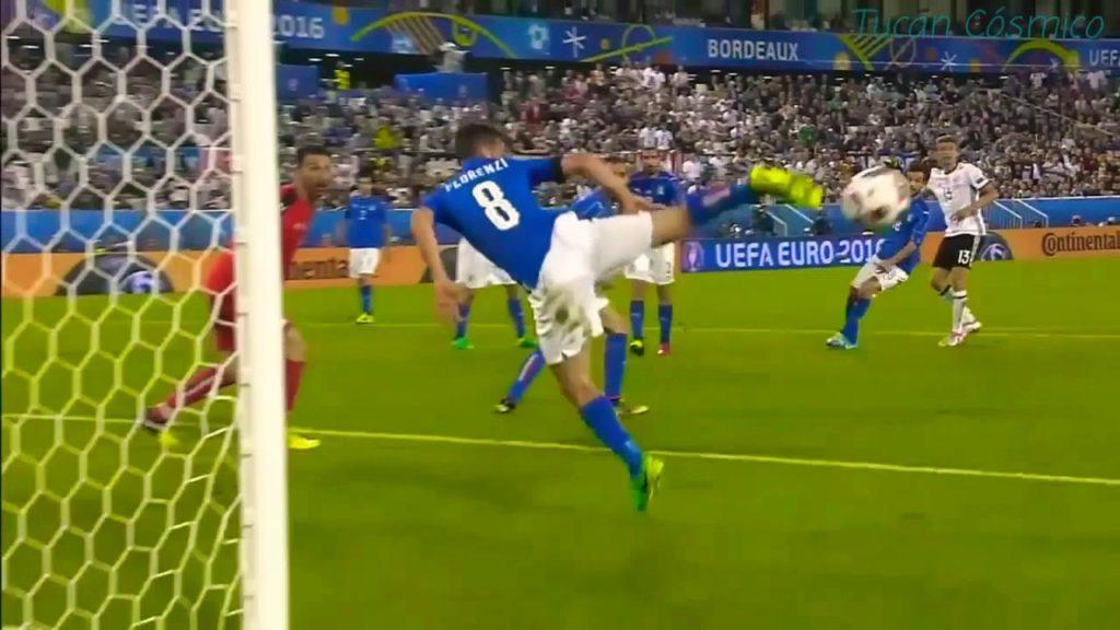 Alesandro Florenci je fantastičnim potezom zaustavio loptu posle Milerovog šuta.