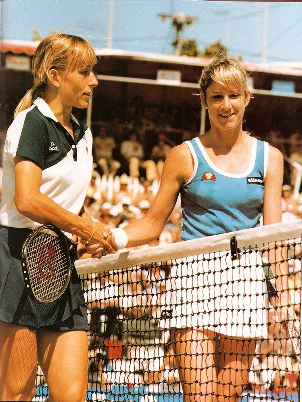 Rivalstvo Kris Evert i Martine Navratilove je jedno od najvećih u istoriji sporta.