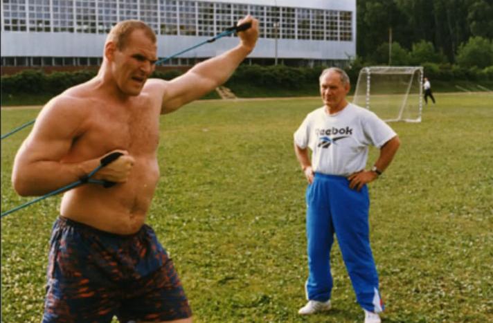 Aleksandar Kareljin je neverovatno trenirao tokom karijere.