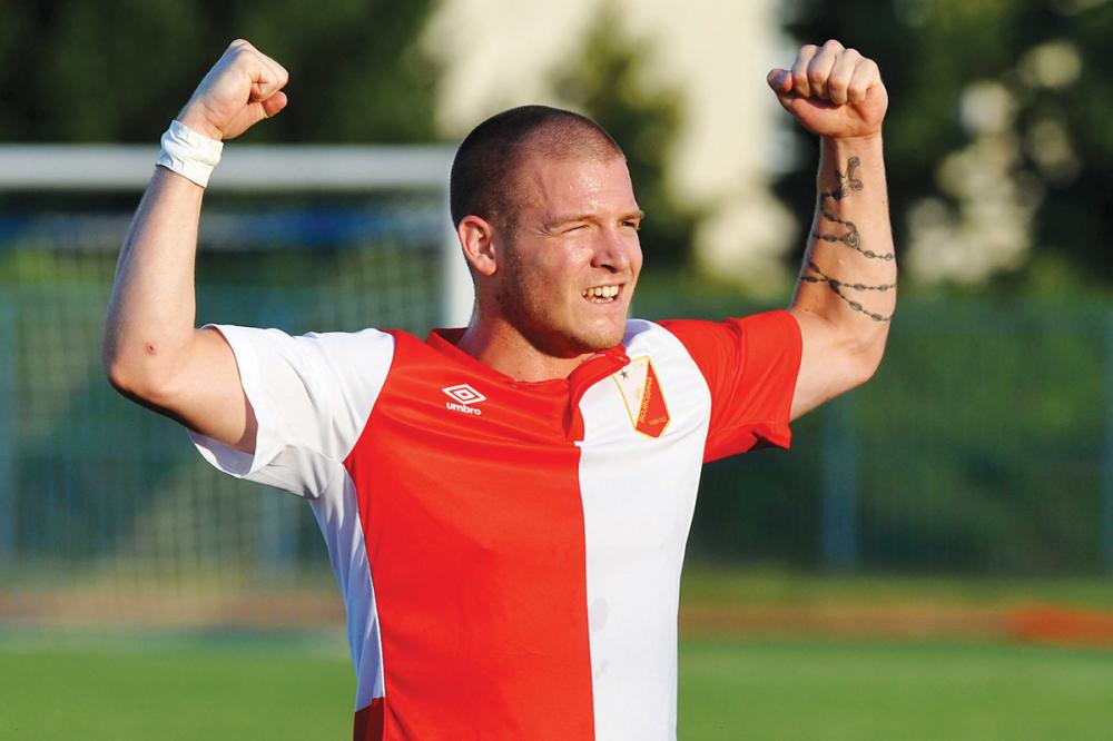 Ognjen Ožegović je postigao gol sezone u Srbiji 2015/2016 godine.