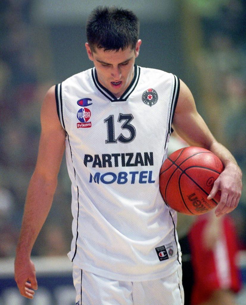 """Miloš Vujanić na kraju ipak na žalost svih navijača """"Crno-belih"""" nije zaigrao ponovo za Partizan. Photo: Srđan Stevanović"""