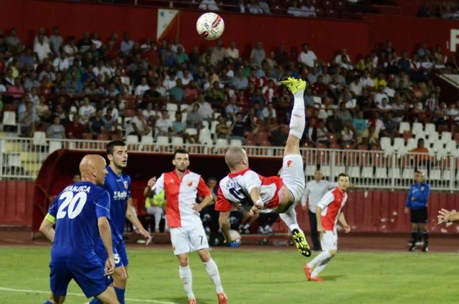 Ognjen Ožegović je postigao fantastičan gol na meču Vojvodina - Javor.
