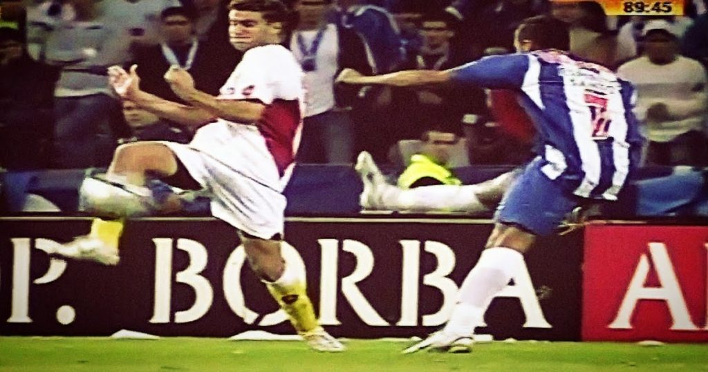 Rikardo Kvarežma je postigao fantastičan pogodak na meču protiv Rio Avea.