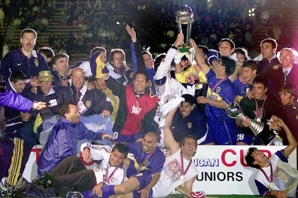 Fudbaleri Boke Juniors postali su klupski šampioni planete 2000. godine.
