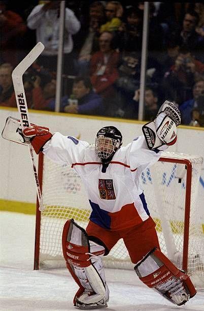 Dominik Hašek je bio junak trijumfa Čeha protiv Kanade.