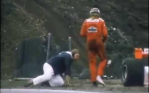 Redar je završio na podu nakon što ga je udario Džejms Hant.