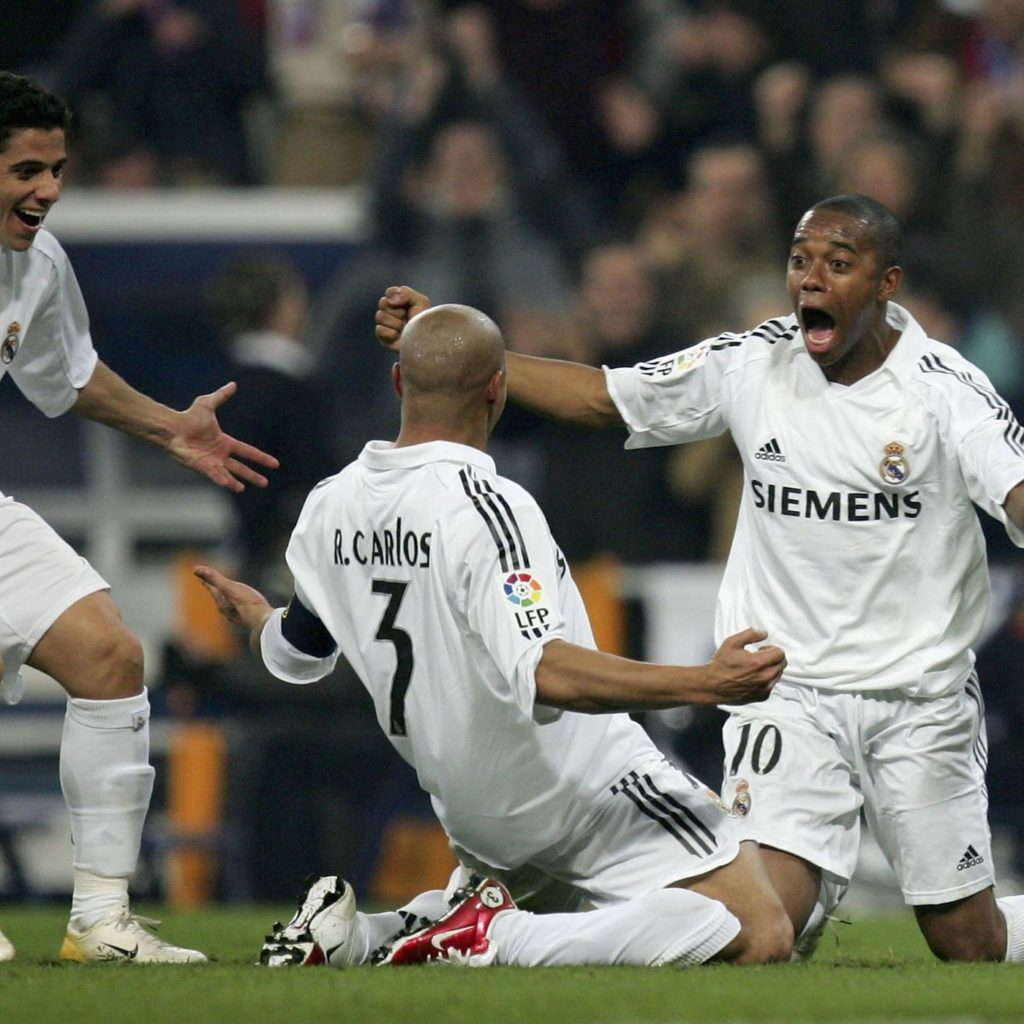 Roberto Karlos je pogotkom poveđao prednost Reala na 4:0, ali potpuni preokret se ipak nije dogodio.