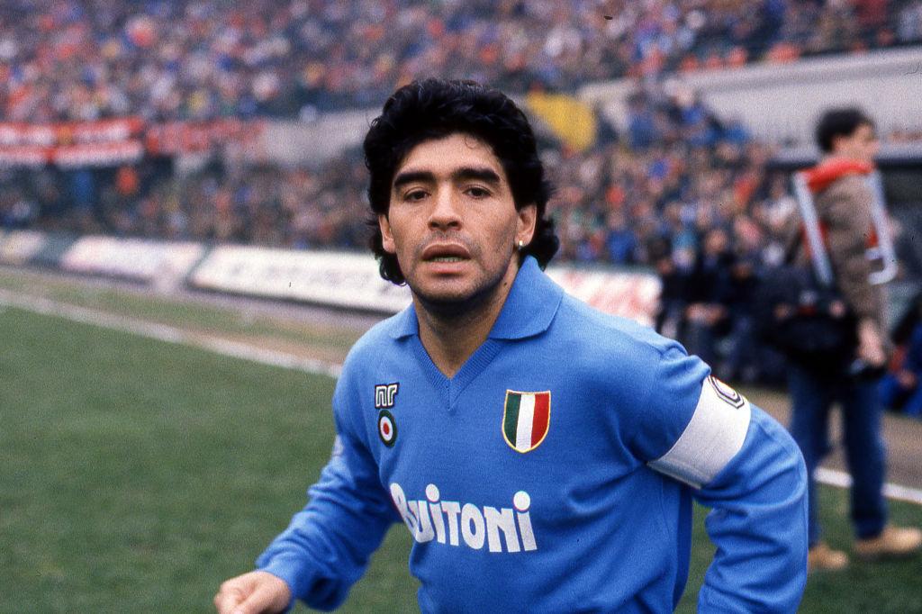 """Dijego Armando Maradona je u Napulju bio i ostao """"Bog""""."""