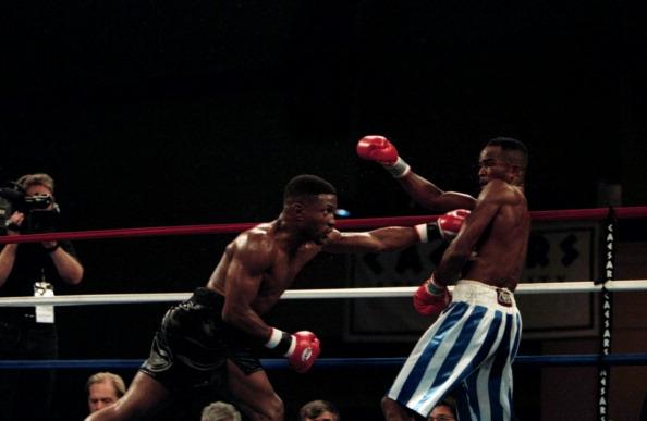 Diosbelis Hurtado bio je bolji borac tokom većeg dela meča protiv Pernela Vitakera. Photo: The Ring Magazine/Getty Images