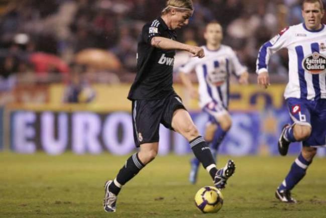Guti je izveo fantastično dodavanje na meču protiv Deportiva.