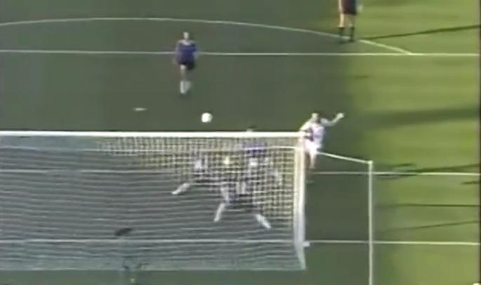 Dejan Savićević promašio je izglednu priliku protiv Argentine.