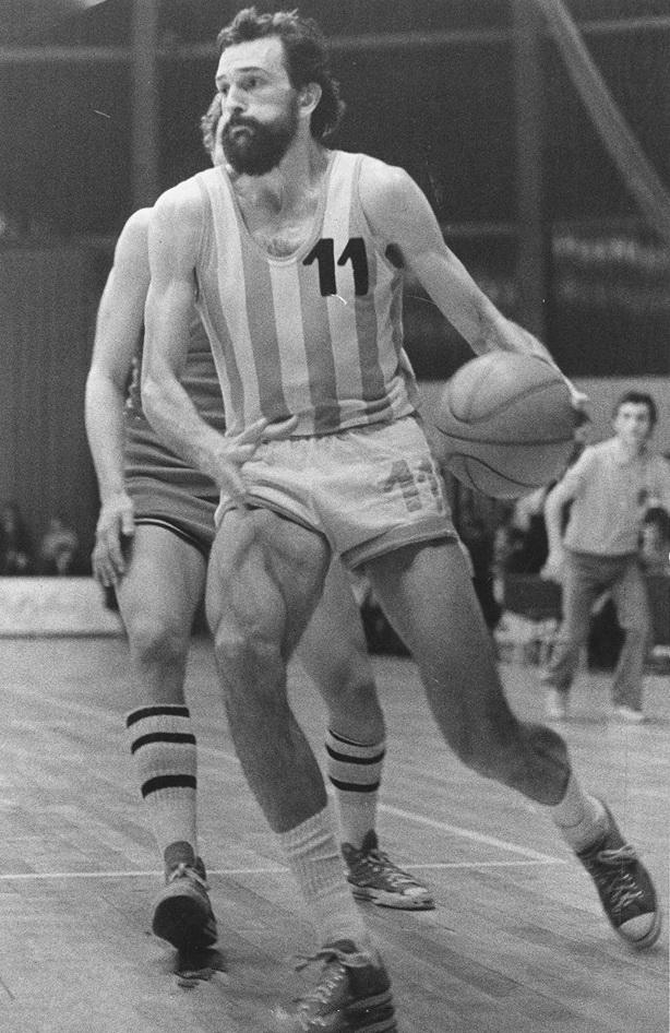 """Ljubodrag """"Duci"""" Simonović - Jugoslovenska košarkaška legenda."""