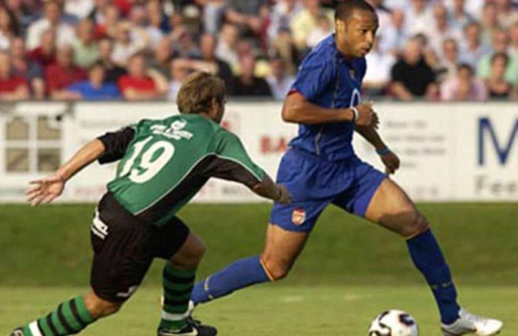 Tijeri Anri postigao je prelep gol u prijateljskom meču protiv Vajca.