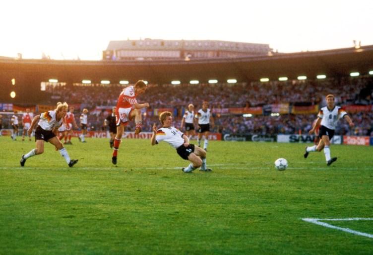 Gol koji je postigao Kim Vilfort u finalu Evropskog prvenstva u Švedskoj.